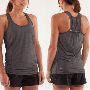 lululemon Run: Silver Bullet Sleeveless Tech